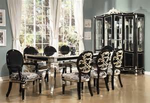 Black Formal Dining Room Sets by Best Dining Room Set Black Images Ltrevents Com