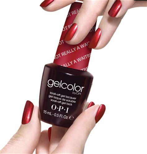 Klassische Nägel by Opi Gelcolor Wellcare Cosmetics