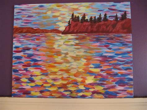 acrylic paint on canvas many hues acrylic painting on canvas