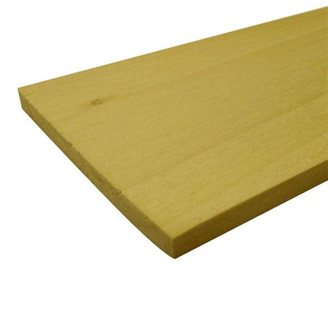 poplar hobby board common 1 4 in x 8 in x 2 ft