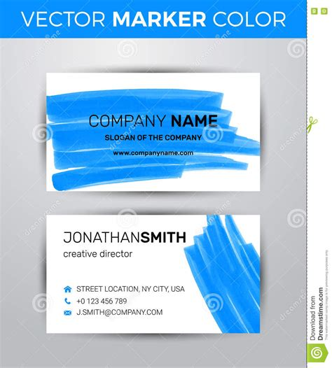 two sided business card template two sided business card template black paint strokes