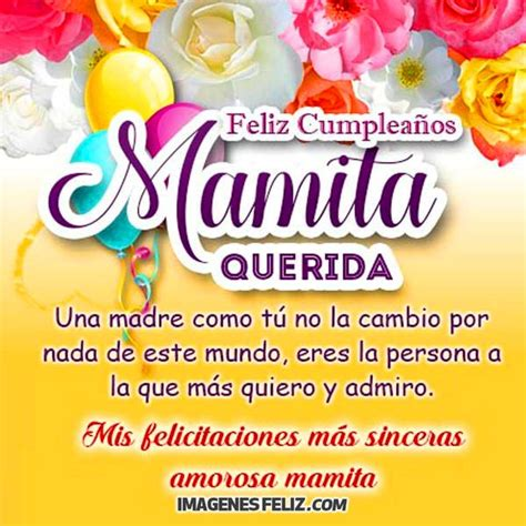 imagenes de feliz cumpleaños para mama feliz cumplea 241 os mam 225
