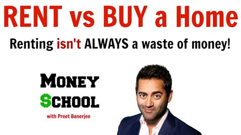 Ia My Mba A Waste Of Money by Is Renting Always A Waste Of Money