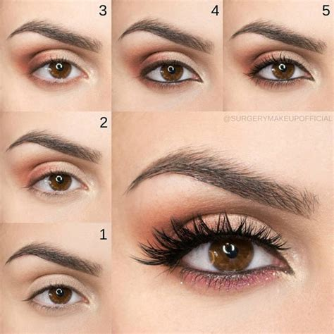 tutorial makeup natural pac 9 makeup tutorials for brown eyes to try out makeupjournal