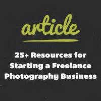 25 best freelance resources images on pinterest 25 resources for starting a freelance photography business