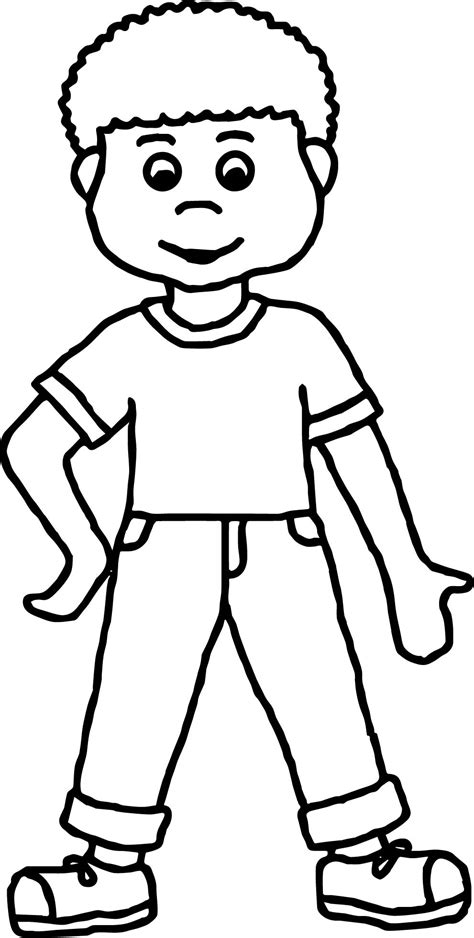 boys coloring pages boy coloring page wecoloringpage