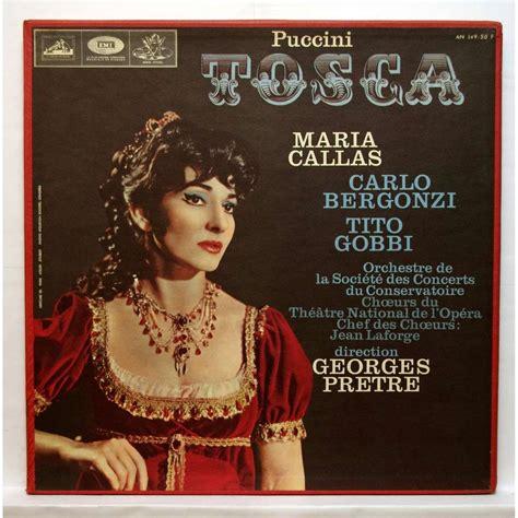 Juwita Set Tosca Lusianans puccini tosca by callas carlo bergonzi tito gobbi lp box set with elyseeclassic