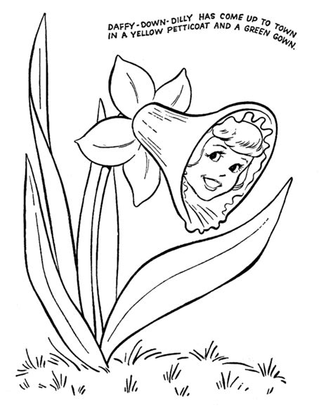lyrics for coloring book bluebonkers nursery rhymes lyrics text coloring page