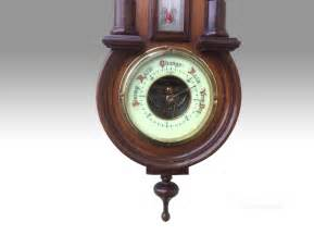 weird wall clocks antiques atlas unusual wall clock with therometer and