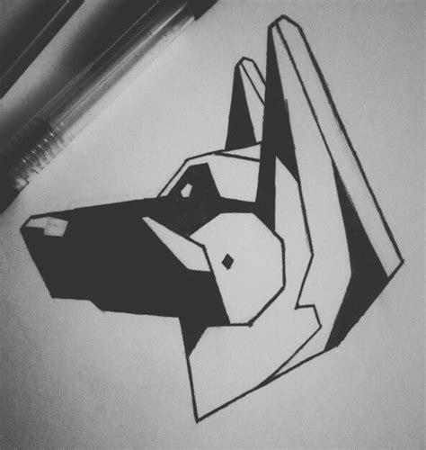 shepherd tattoo designs geometric german shepherd ink