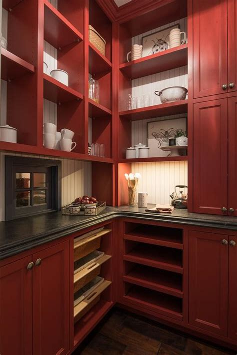 red kitchen pantry cabinet red kitchen pantry cabinet manicinthecity