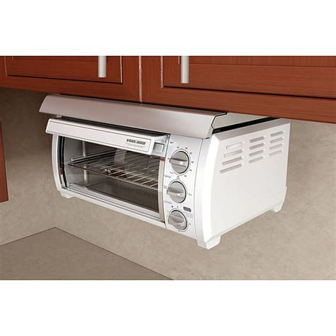 Space Saver Cabinets Kitchen by Black Amp Decker Spacemaker Traditional Toaster Oven