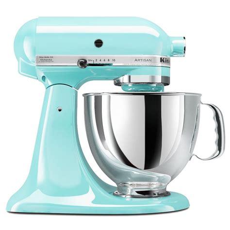 Kitchenaid Qvc Kitchenaid Blue Artisan 5 Quart Stand Mixer Ksm150psic