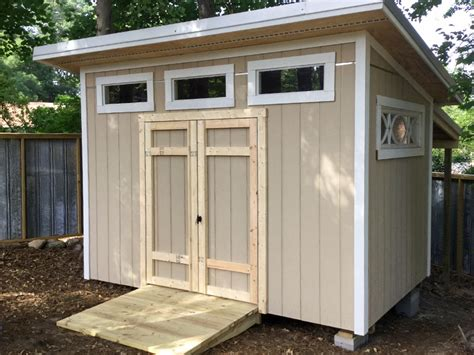 contemporary shed contemporary storage single slant roof