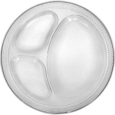 section plates for adults clear plastic divided dinner plates 20ct party city