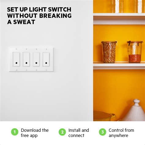 wemo wifi light switch wemo 174 wi fi smart light switch