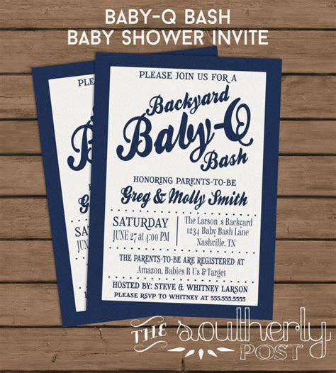 backyard baby shower invitations baby q baby shower invitation couples baby shower backyard