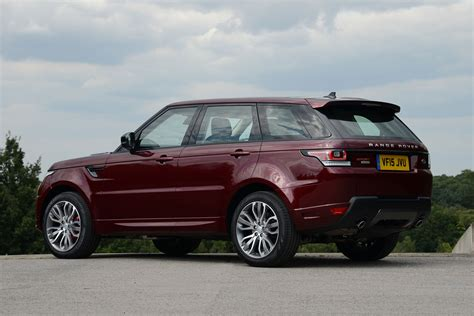 maroon range rover new range rover sport 2015 review pictures auto express
