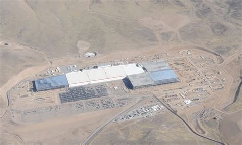 Tesla Giga Factory Location Tesla Gigafactory 1 Flyover Highlights