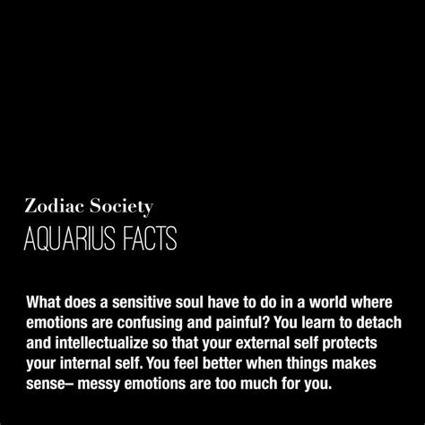 zodiacsociety aquarius facts what does a sensitive soul