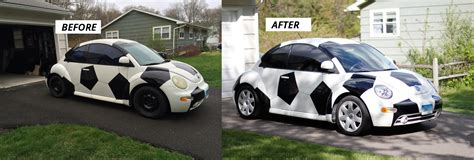 cer makeover soccer ball car makeover before and after pics drive