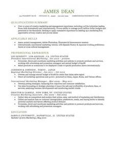 Combination Resume Format by 25 Best Free Downloadable Resume Templates By Industry