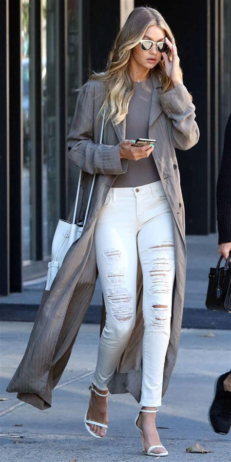 celebrity style now how to wear white jeans in the winter celebrities in