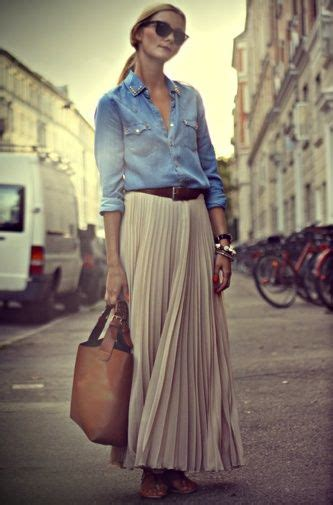 style pleated skirts
