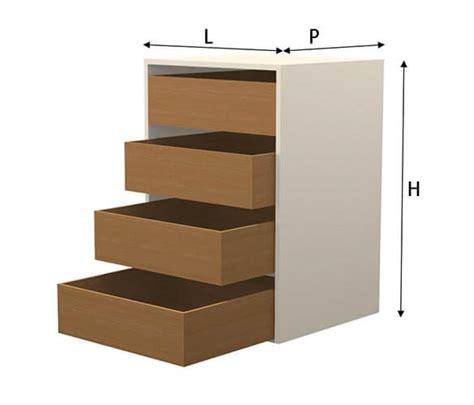 cassetti per cucine in muratura modulo cassettiera per cucine in muratura