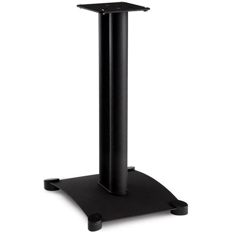 sanus 22 quot steel series bookshelf speaker stand pair