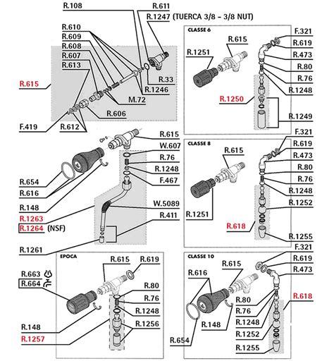 rancilio parts diagram rancilio parts