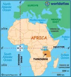 Tanzania Africa Map by Tanzania Map Geography Of Tanzania Map Of Tanzania