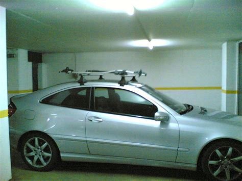 bike rack cl roof rack thread for w203 s203 cl203 bike ski mounts
