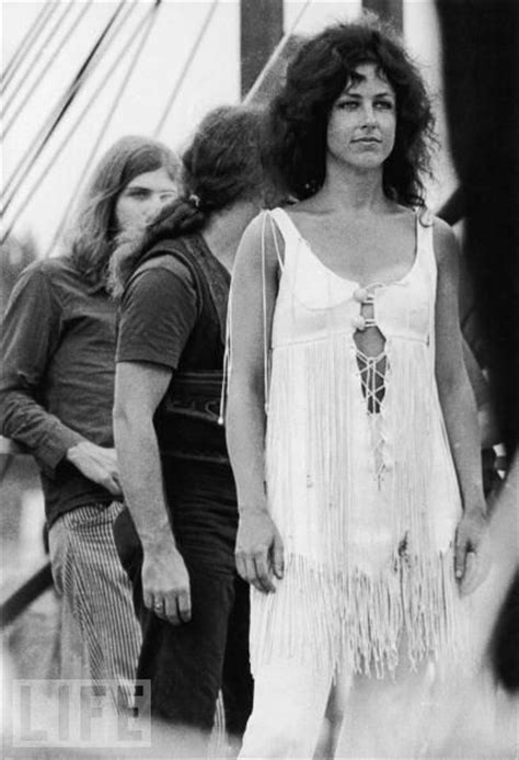 Grace Slick from Jefferson Airplane at Woodstock http