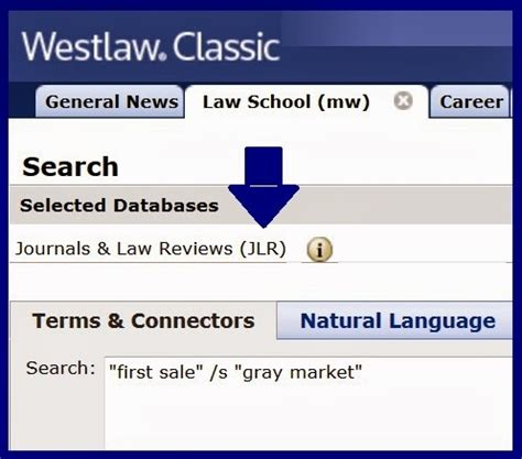 How To Search On Westlaw Gallagher Blogs Using Database Identifiers In Westlawnext