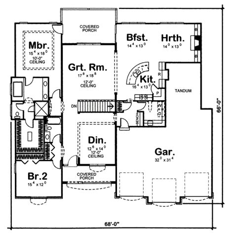 455 square feet mediterranean style house plan 2 beds 2 baths 2478 sq ft