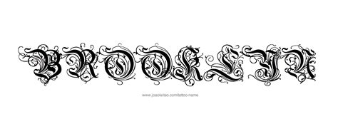 brooklyn tattoos designs name designs
