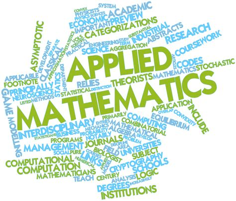 Applied Mathematics Engineering Applied Mathematics And Statistics M A And M S E
