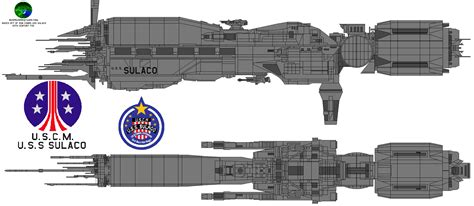 Carrier Extraterrestrial 60 L the u s s sulaco is a conestoga class light assault carrier designed for drop operations