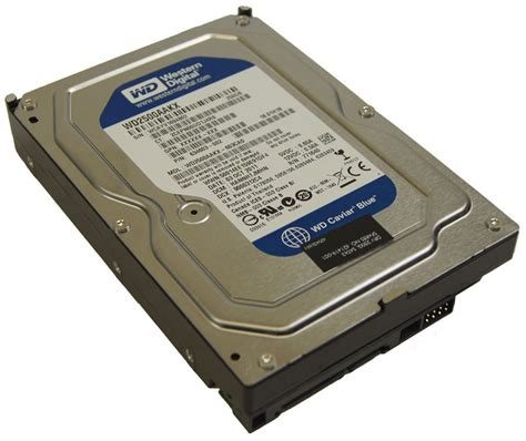 Hdd Wd 250gb western digital 250gb drive wd2500aakx caviar blue used factory oem parts