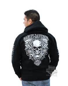 Sweater Hoodie Harley Davidson Hitam Bahan High Quality Cotton Fleece harley davidson hoodies cheap clothing stores