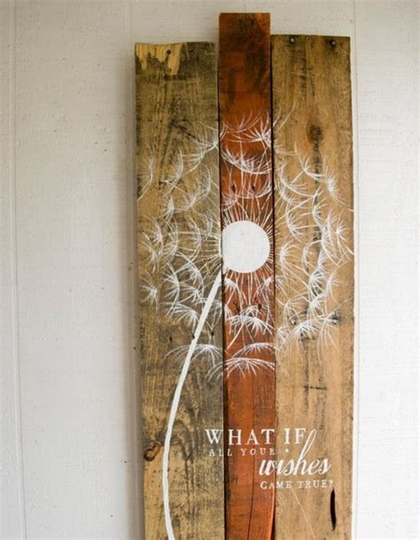 wanddeko holz moderne wanddeko aus holz im rustikalen stil