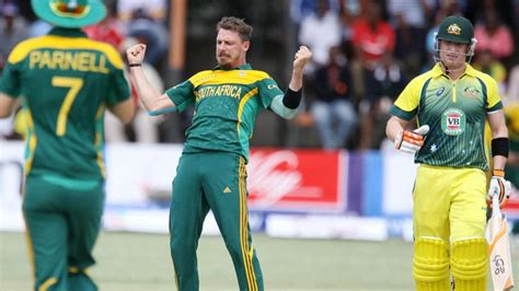 South Africa Records South Africa Records Big Victory Australia In One Day Tri Series In Harare