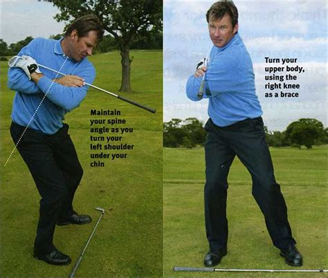 nick faldo swing hitchin a ride nick faldo