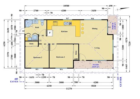 floor plan granny flat kings park granny flat project granny flats built in