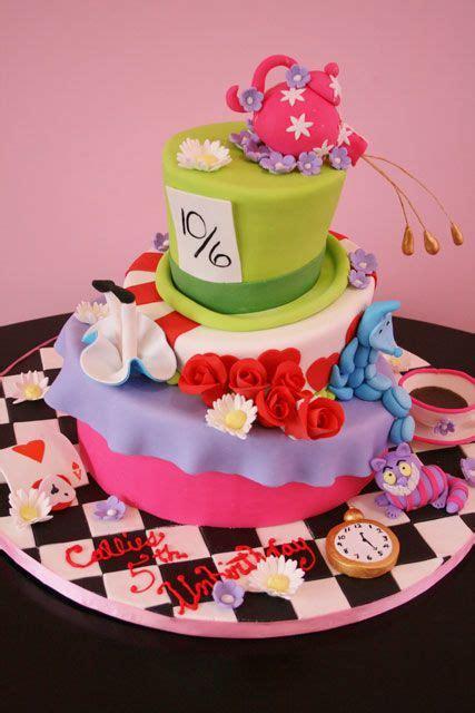themed birthday cakes nj alice in wonderland custom birthday cake nj kids