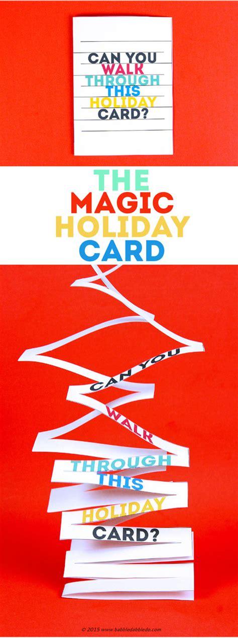 printable card tricks magic trick for kids walk thru a card babble dabble do