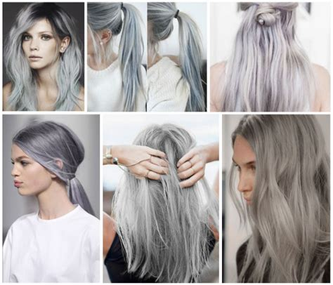 gray hair trends 2015 el pelo gris lleg 243 para quedarse cabellos y hierbas