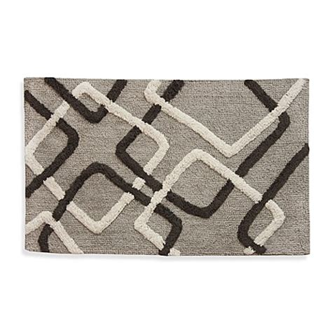 Lacey Multi Colored Geometric Shapes Bath Rug Bed Bath Multi Color Bathroom Rugs