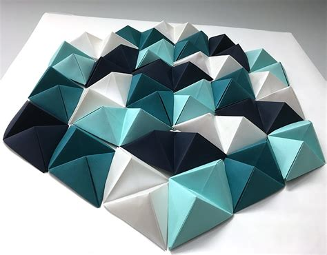 Diy Home Decorations Ideas by Diy Geometric Paper Wall Art Jam Blog